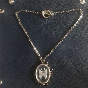 Gasoline Glamour Butterfly Pendant/Necklace